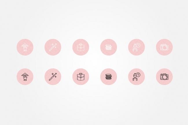 Создам 5 иконок в любом стиле, для лендинга, сайта или приложения 94 - kwork.ru