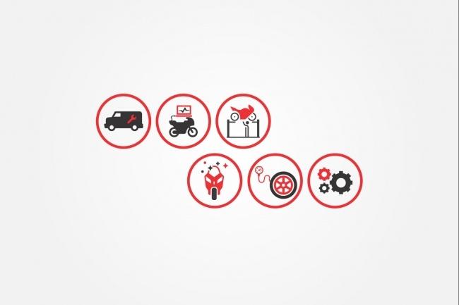 Создам 5 иконок в любом стиле, для лендинга, сайта или приложения 91 - kwork.ru