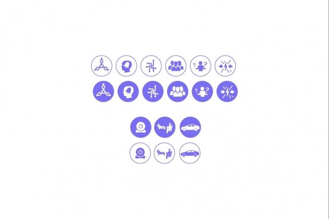 Создам 5 иконок в любом стиле, для лендинга, сайта или приложения 89 - kwork.ru