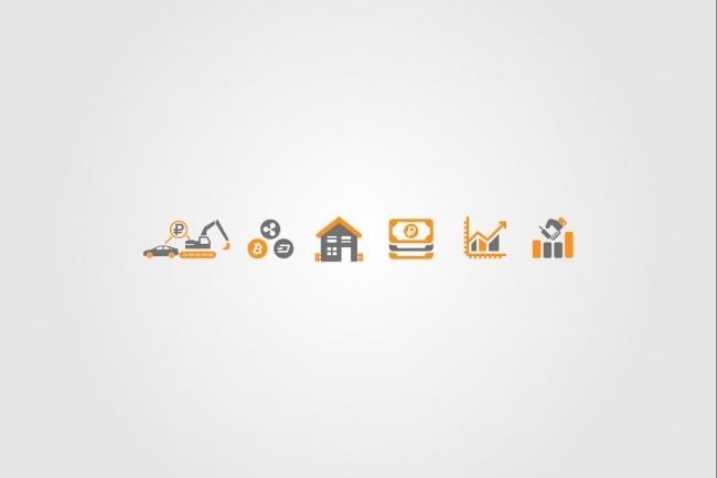 Создам 5 иконок в любом стиле, для лендинга, сайта или приложения 88 - kwork.ru
