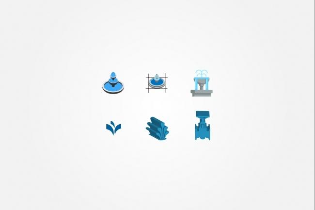 Создам 5 иконок в любом стиле, для лендинга, сайта или приложения 85 - kwork.ru