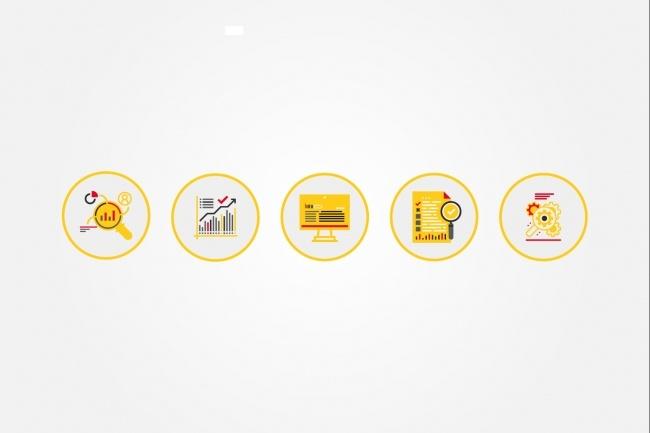 Создам 5 иконок в любом стиле, для лендинга, сайта или приложения 83 - kwork.ru