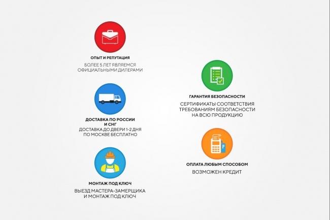 Создам 5 иконок в любом стиле, для лендинга, сайта или приложения 79 - kwork.ru