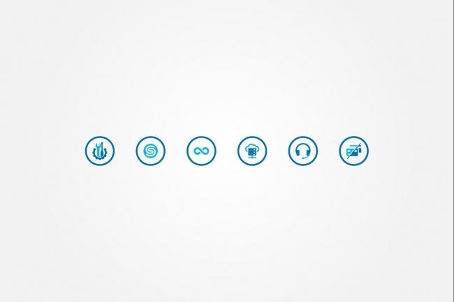 Создам 5 иконок в любом стиле, для лендинга, сайта или приложения 78 - kwork.ru