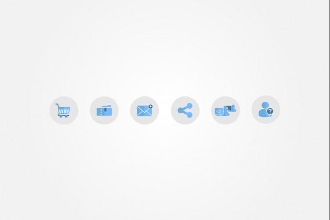 Создам 5 иконок в любом стиле, для лендинга, сайта или приложения 69 - kwork.ru