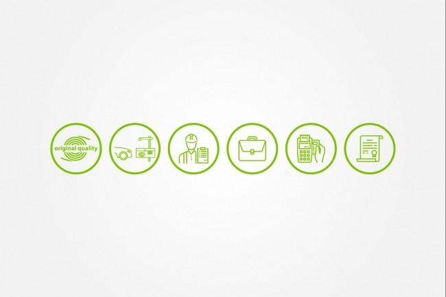 Создам 5 иконок в любом стиле, для лендинга, сайта или приложения 65 - kwork.ru