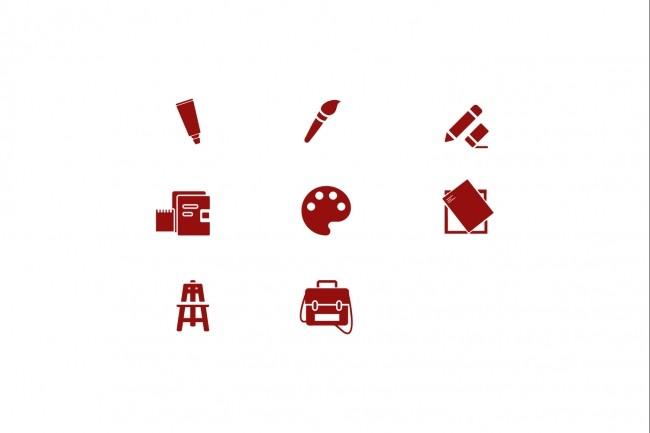 Создам 5 иконок в любом стиле, для лендинга, сайта или приложения 66 - kwork.ru