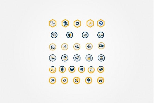 Создам 5 иконок в любом стиле, для лендинга, сайта или приложения 64 - kwork.ru