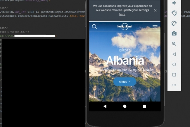 Android приложение для сайта 48 - kwork.ru