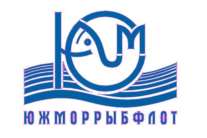 Отрисовка логотипа в векторе. Молниеносно 8 - kwork.ru