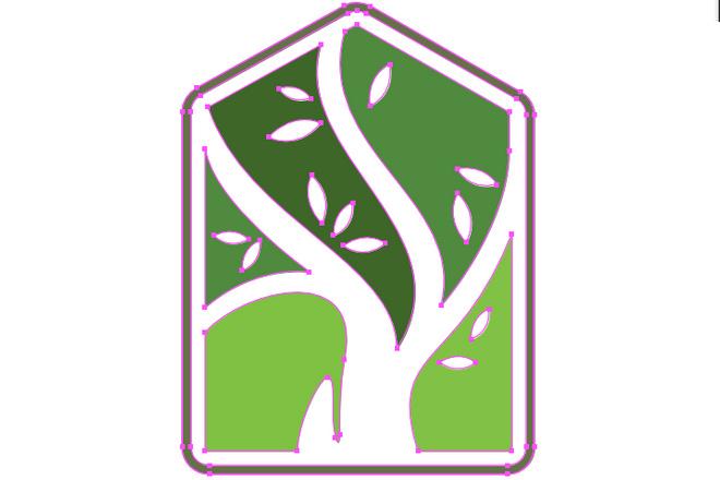 Отрисовка логотипа в векторе. Молниеносно 5 - kwork.ru