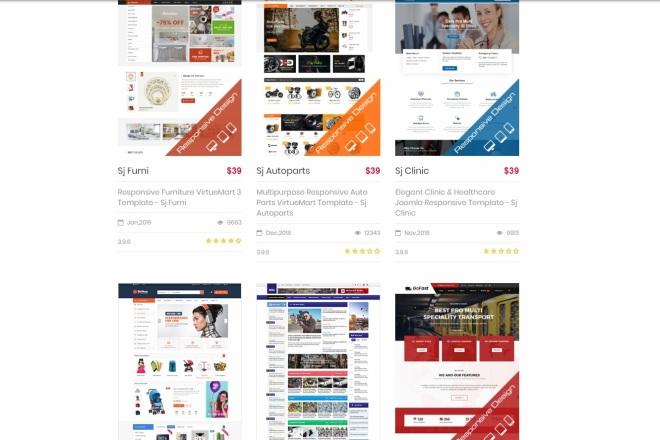 Joomla премиум набор шаблонов и расширений 3 - kwork.ru