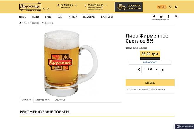 Создание интернет-магазина на CMS Opencart 4 - kwork.ru