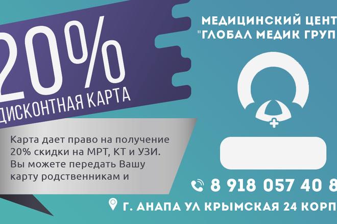 Баннер для печати в любом размере 11 - kwork.ru