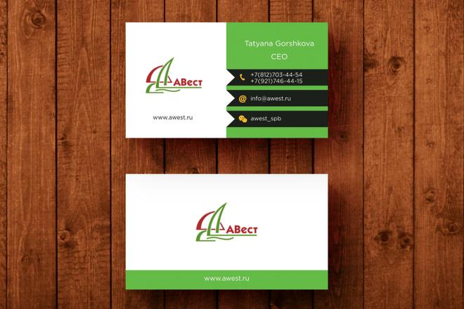 3 варианта дизайна визитки 18 - kwork.ru