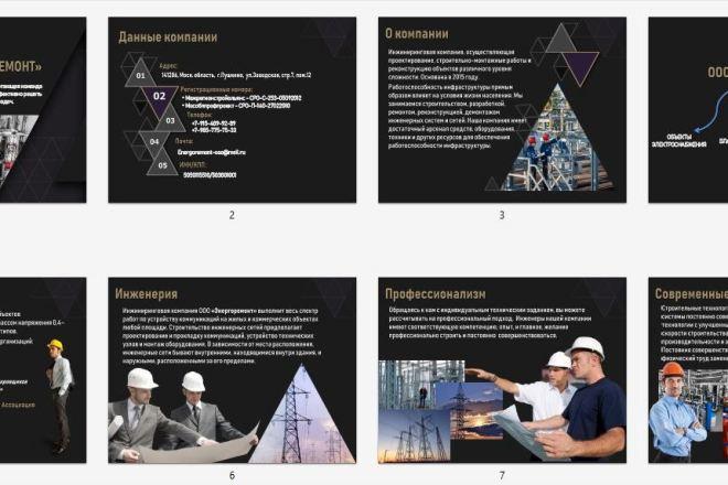 Подготовлю презентацию в PowerPoint с уникальным дизайном 5 - kwork.ru