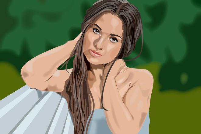 Нарисую портрет в растровой или векторной графике 12 - kwork.ru