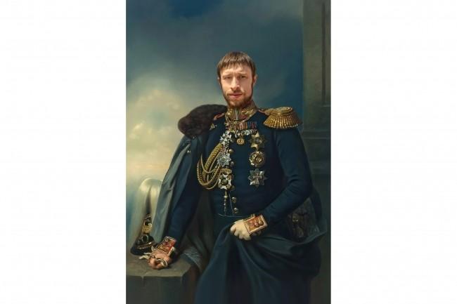 Портрет в образе 3 - kwork.ru