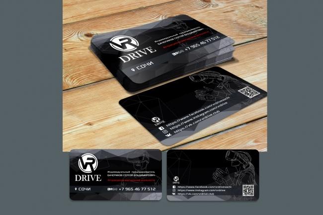 Сделаю дизайн визитки 83 - kwork.ru