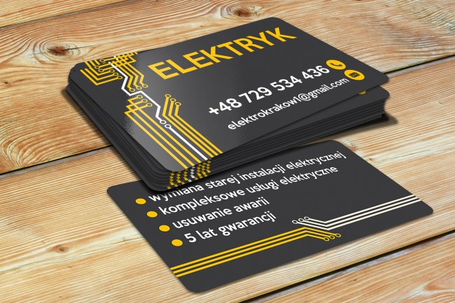 Сделаю дизайн визитки 96 - kwork.ru