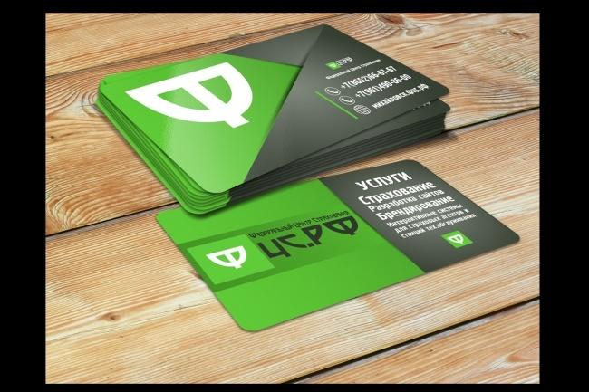 Сделаю дизайн визитки 91 - kwork.ru