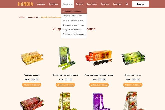 Качественный дизайн интернет-магазина 14 - kwork.ru