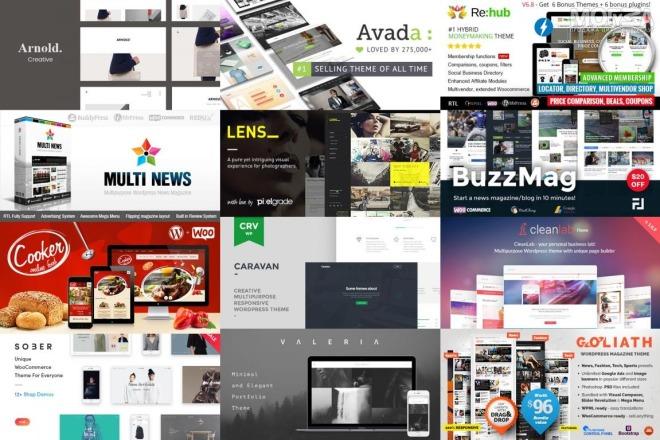 50 премиум тем WP для интернет-магазина на WooCommerce 16 - kwork.ru