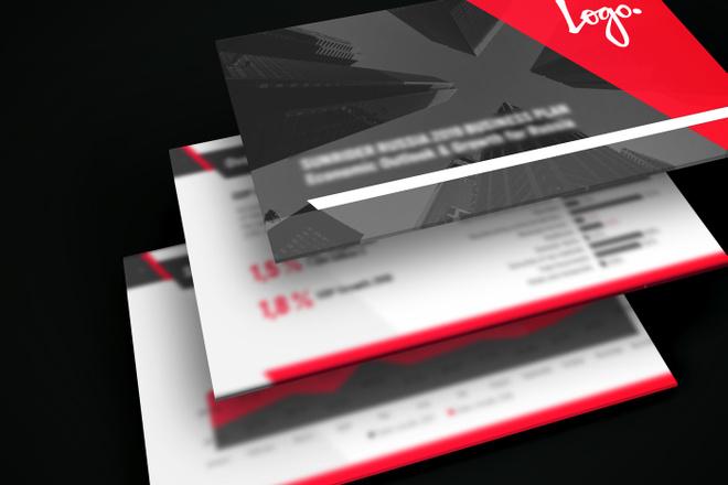 Дизайн средней презентации 7 - kwork.ru