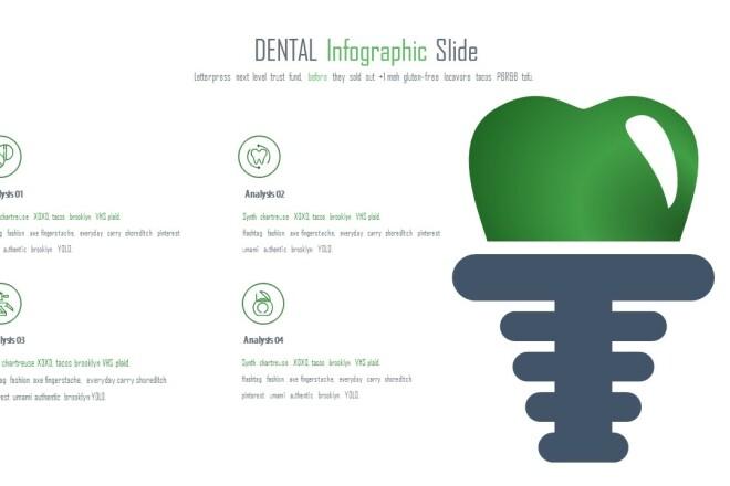 Инфографика на медицинскую тему. Шаблоны PowerPoint 12 - kwork.ru