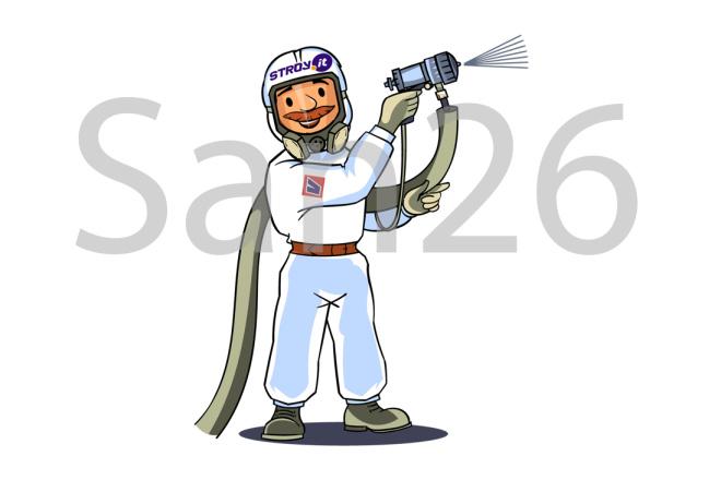 Нарисую иллюстрацию с одним персонажем 2 - kwork.ru
