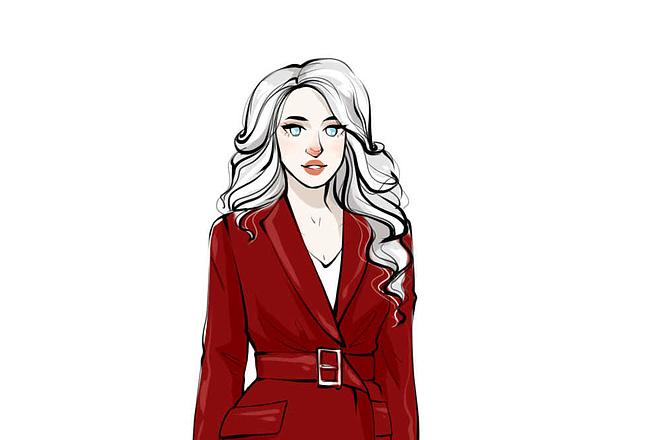 Fashion иллюстрация 4 - kwork.ru