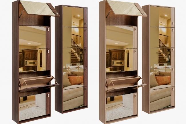3D моделирование и визуализация мебели 133 - kwork.ru