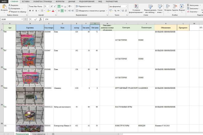 Excel формулы, сводные таблицы, макросы 76 - kwork.ru