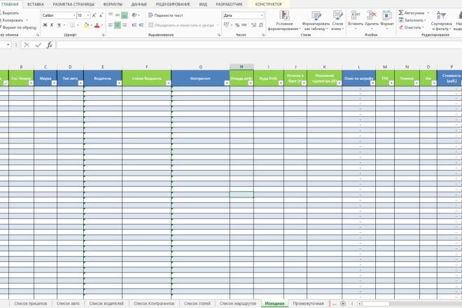 Excel формулы, сводные таблицы, макросы 70 - kwork.ru