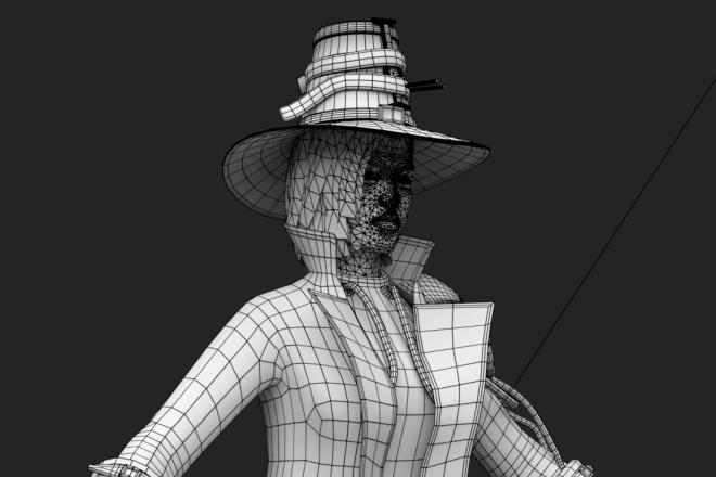 3D персонаж для игрового проекта 1 - kwork.ru