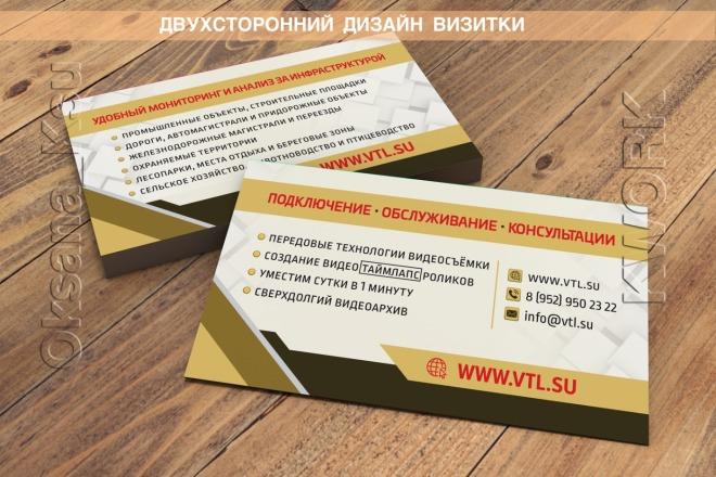 Разработаю дизайн оригинальной визитки. Исходник бесплатно 14 - kwork.ru