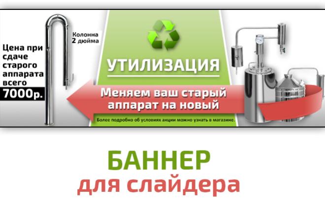 Разработка статичных баннеров 3 - kwork.ru