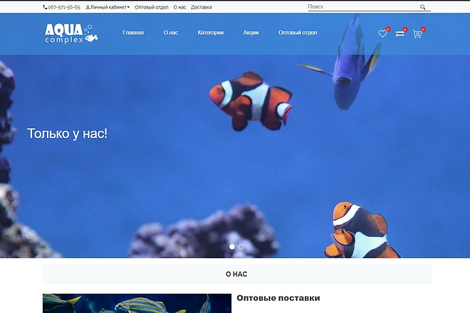 Правка верстки на cms opencart 3 - kwork.ru