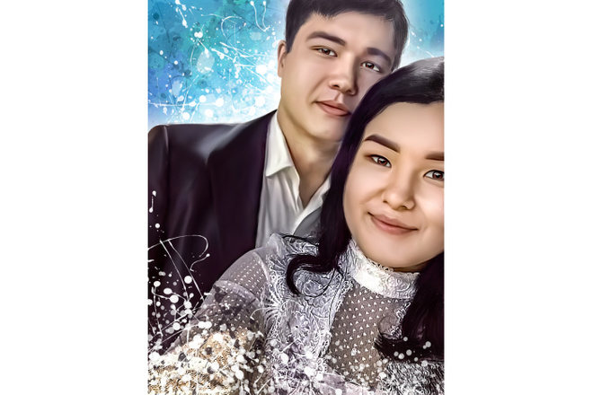 Дрим Арт портрет 8 - kwork.ru
