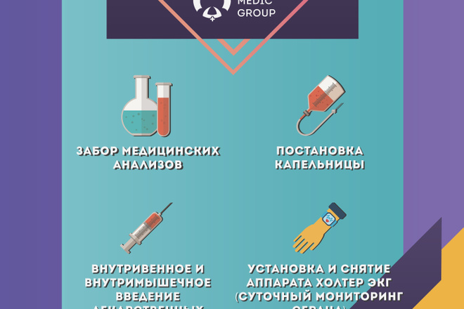 Баннер для печати в любом размере 9 - kwork.ru