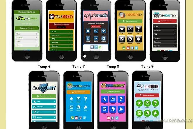 Адаптивная мобильная верстка 6 - kwork.ru