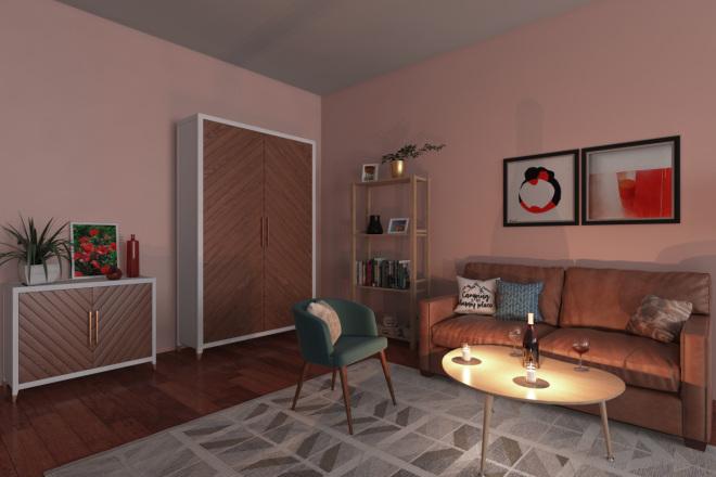 3D визуализация интерьера 12 - kwork.ru