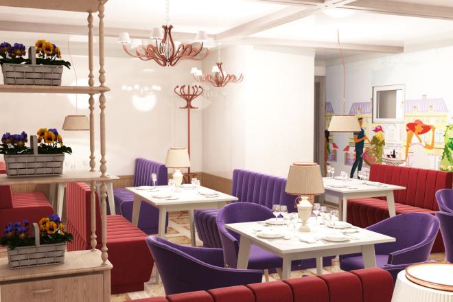 Интерьеры ресторанов, кафе 6 - kwork.ru
