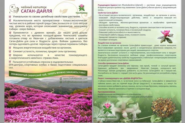 Дизайн флаера, листовки 5 - kwork.ru