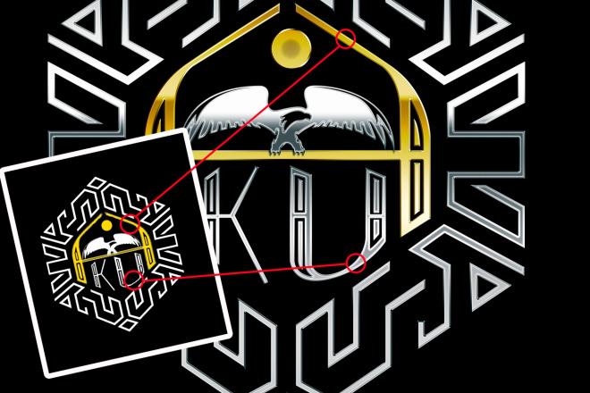 Лого по эскизу 10 - kwork.ru