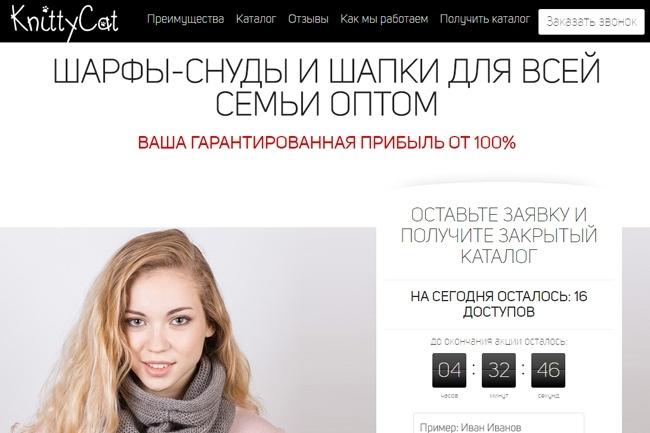 Сделаю продающий Лендинг для Вашего бизнеса 87 - kwork.ru