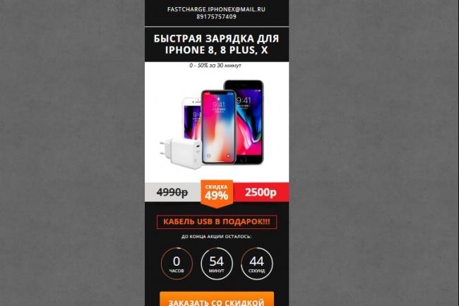 Сделаю продающий Лендинг для Вашего бизнеса 79 - kwork.ru