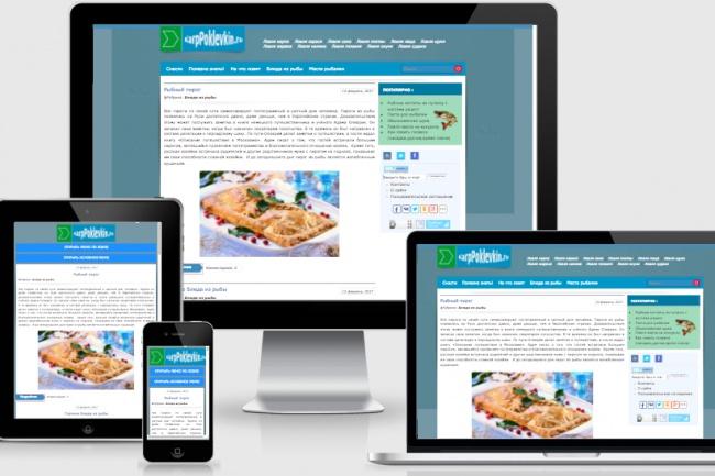 Адаптирую Ваш сайт под мобильные устройства 5 - kwork.ru