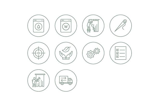 Создание иконок для сайта, приложения 3 - kwork.ru