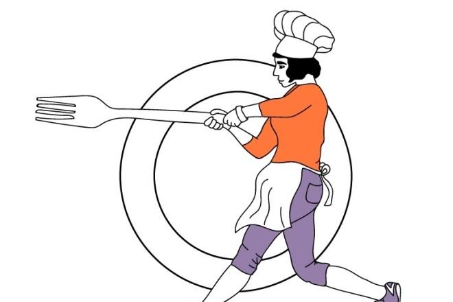 Нарисую любую иллюстрацию в стиле doodle 8 - kwork.ru